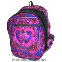 Ethnic Purple Backpack