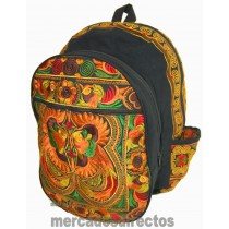 Ethnic Brown Backpack