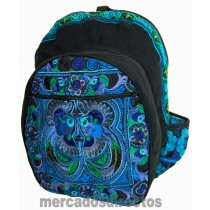 Ethnic Blue Backpack