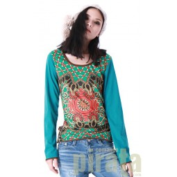 Printed Long Sleeves T-Shirt 075
