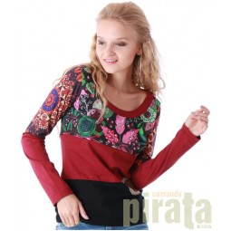 Combined Long Sleeves T-Shirt 116