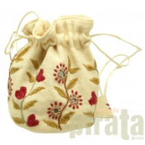 Embroidery Small Bag