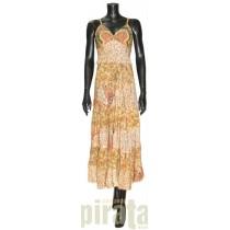Silk Long Dress 2698