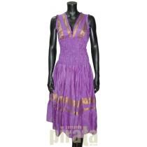 Sleeveless Dress Border 1250-2