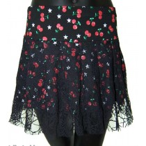 Cherries Short Skirt 180
